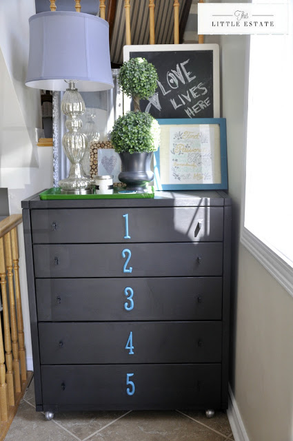 http://thislittleestate.com/2013/04/29/numbered-dresser-redo-loved-addition-to/