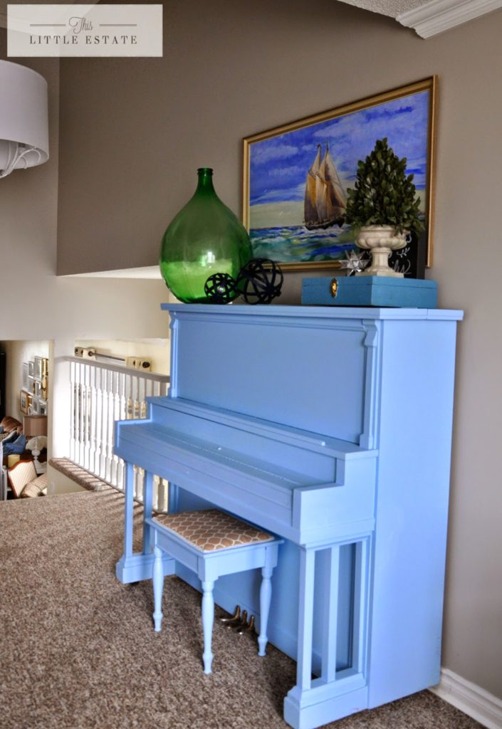 painted piano this little estate