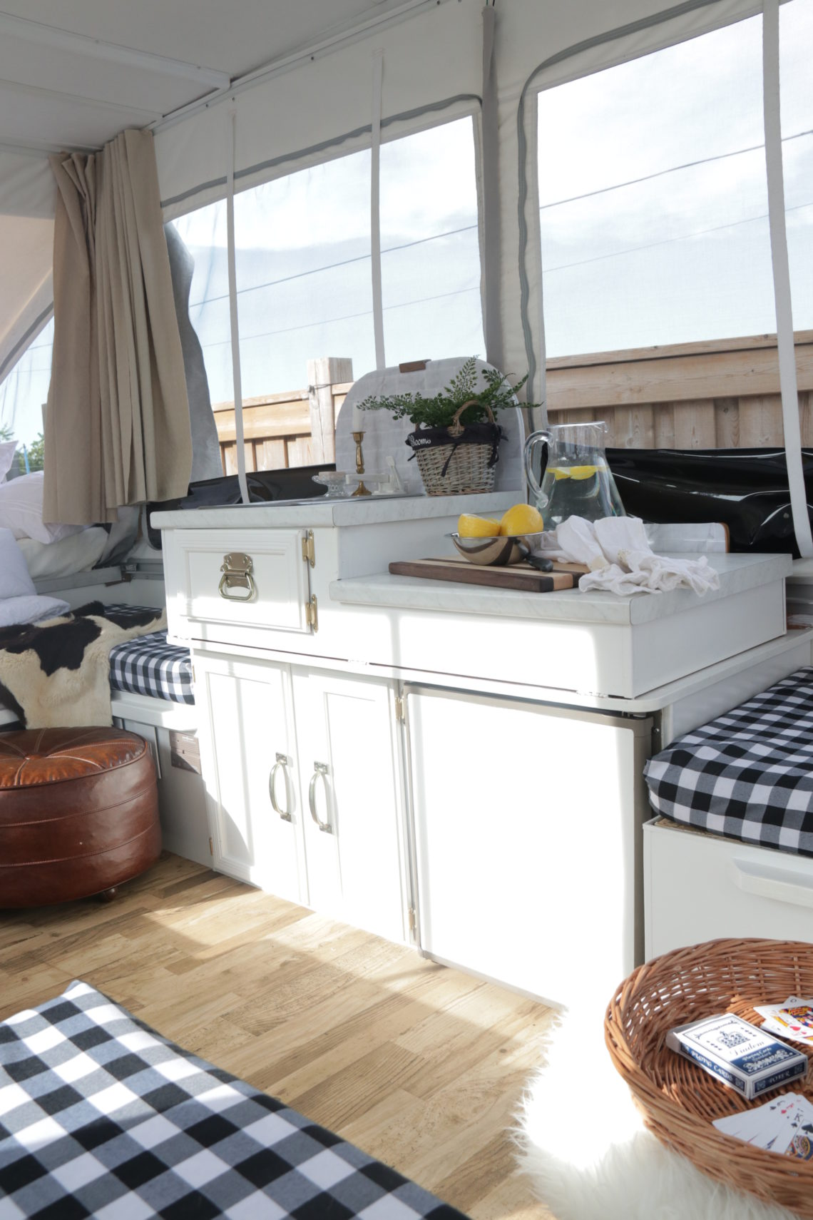 THE CAMPER COTTAGE / Part 3: (THE KITCHEN) | This Little Estate